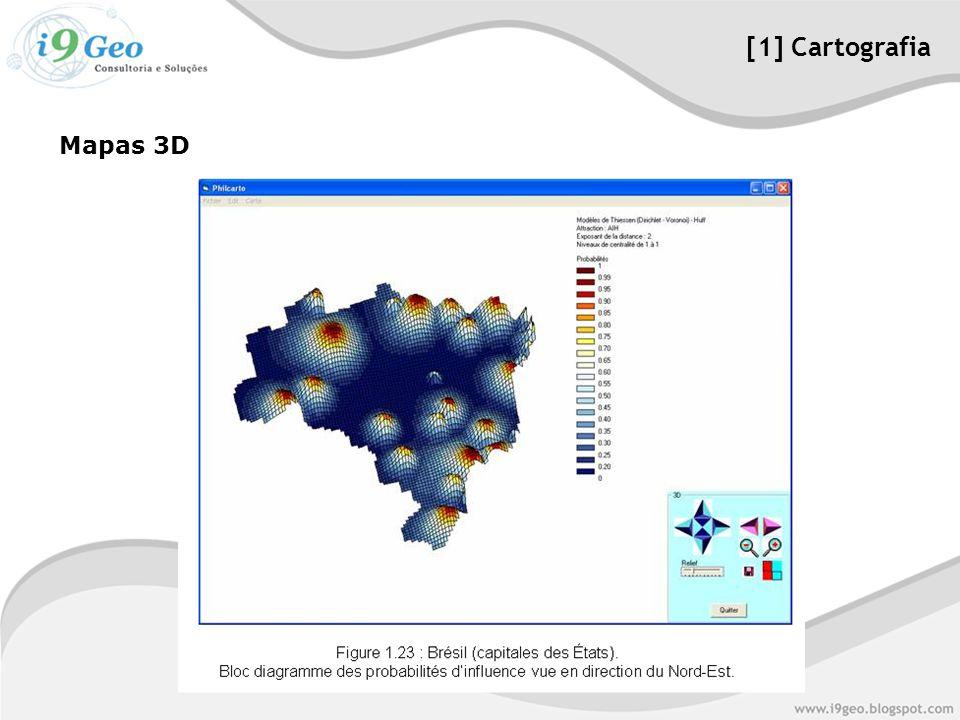[1] Cartografia Mapas 3D